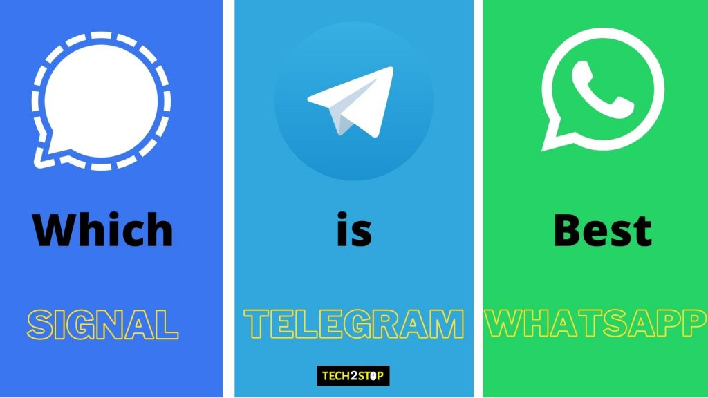 SIGNAL vs TELEGRAM | THE BEST WHATSAPP REPLACEMENT [2021]