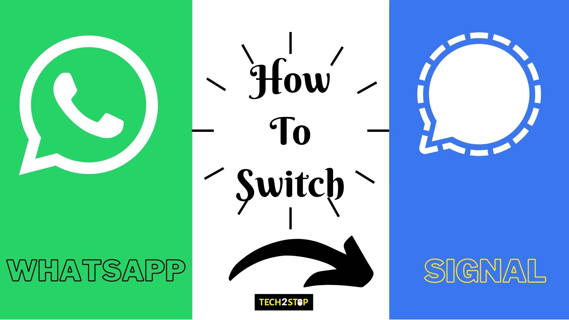 How to Switch to Signal from WhatsApp