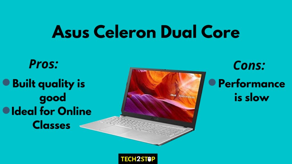 Asus X543MA-GQ1015T Celeron Dual Core | Best Laptops to Buy in India under 20000